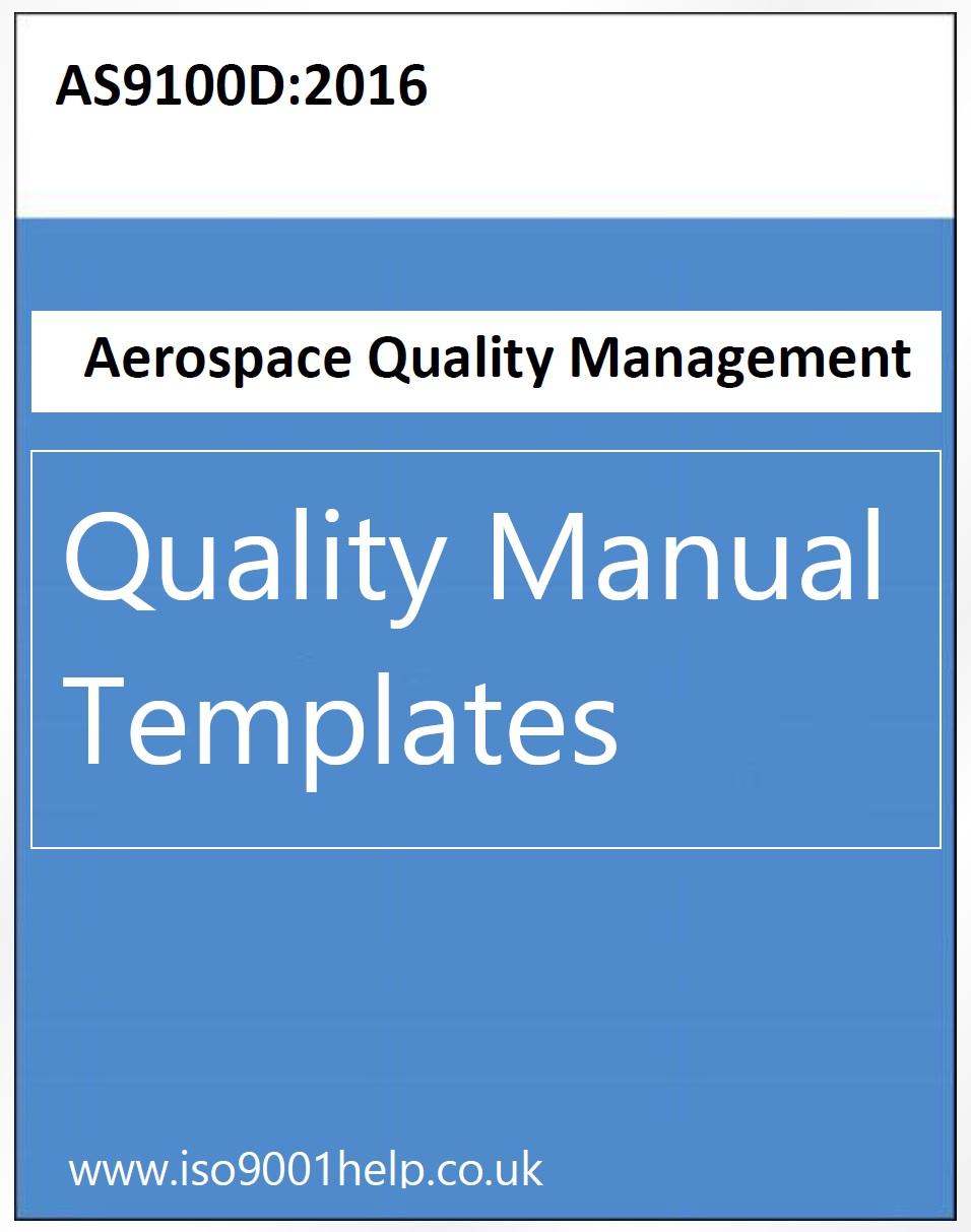 AS9100D Quality Manual