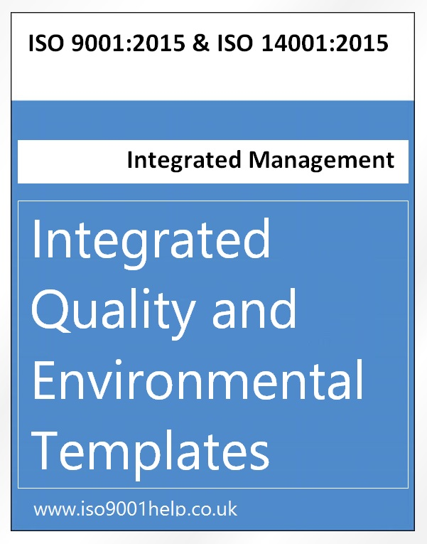 EQMS integrated manual and procedures